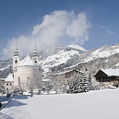 Brixen im Thale im Winter
