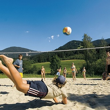 Beachvolleyball am Brixner Badesee